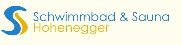 Schwimmbad und Sauna Hohenegger Logo